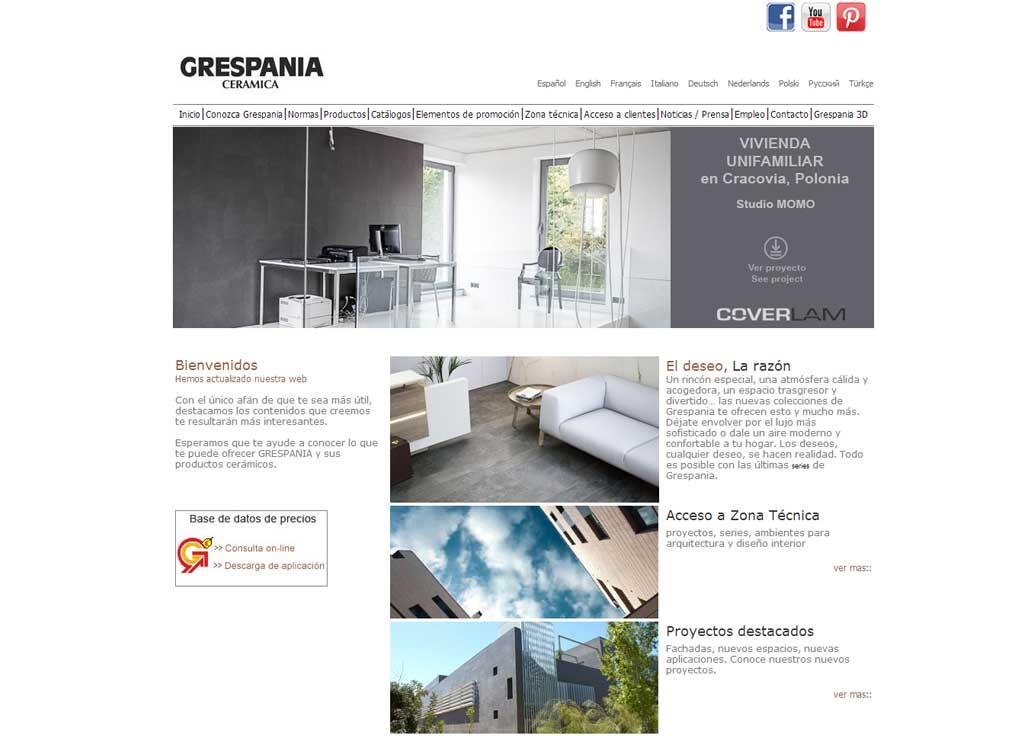 Web Grespania