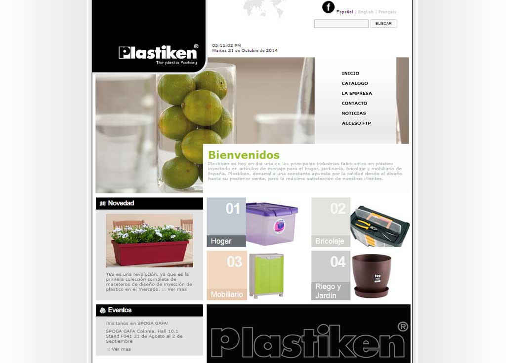 Web Corporativa Plastiken