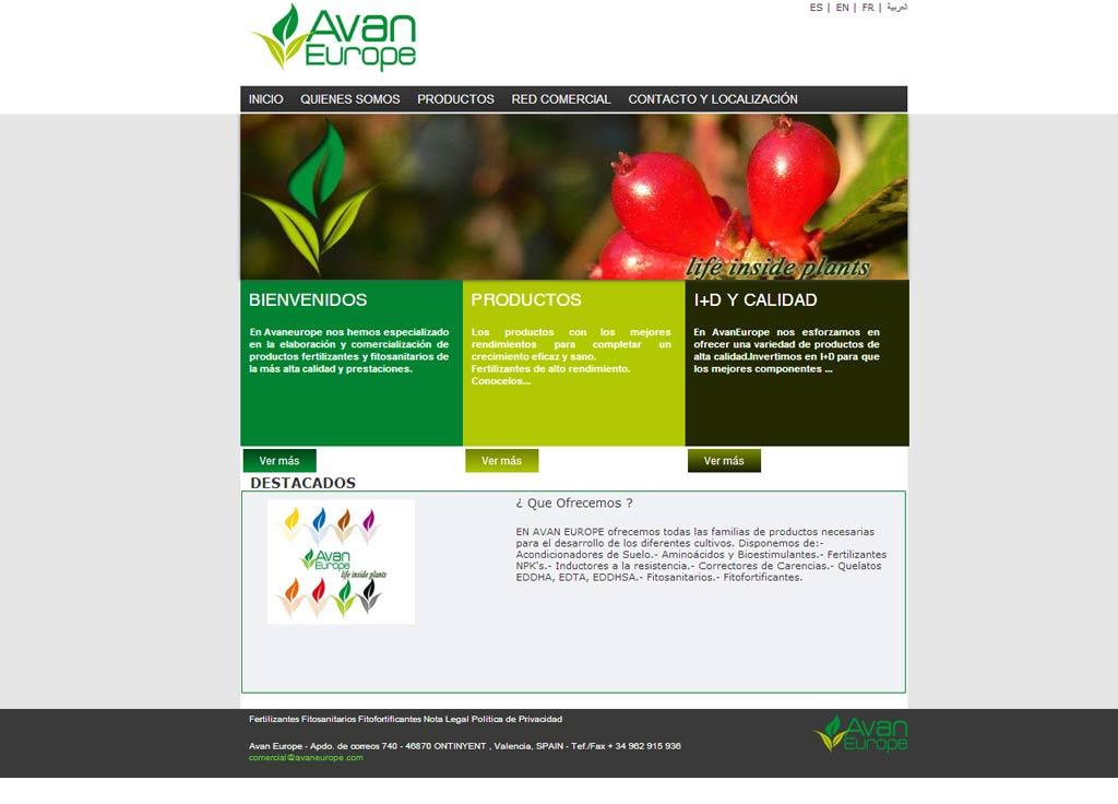 Web Avan Europe