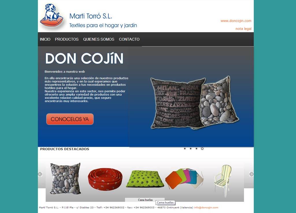 Web Don Cojín