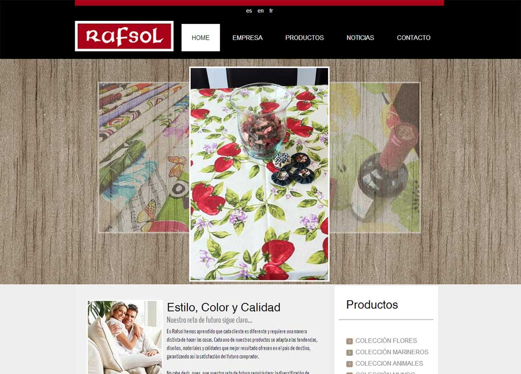 Web Rafsol