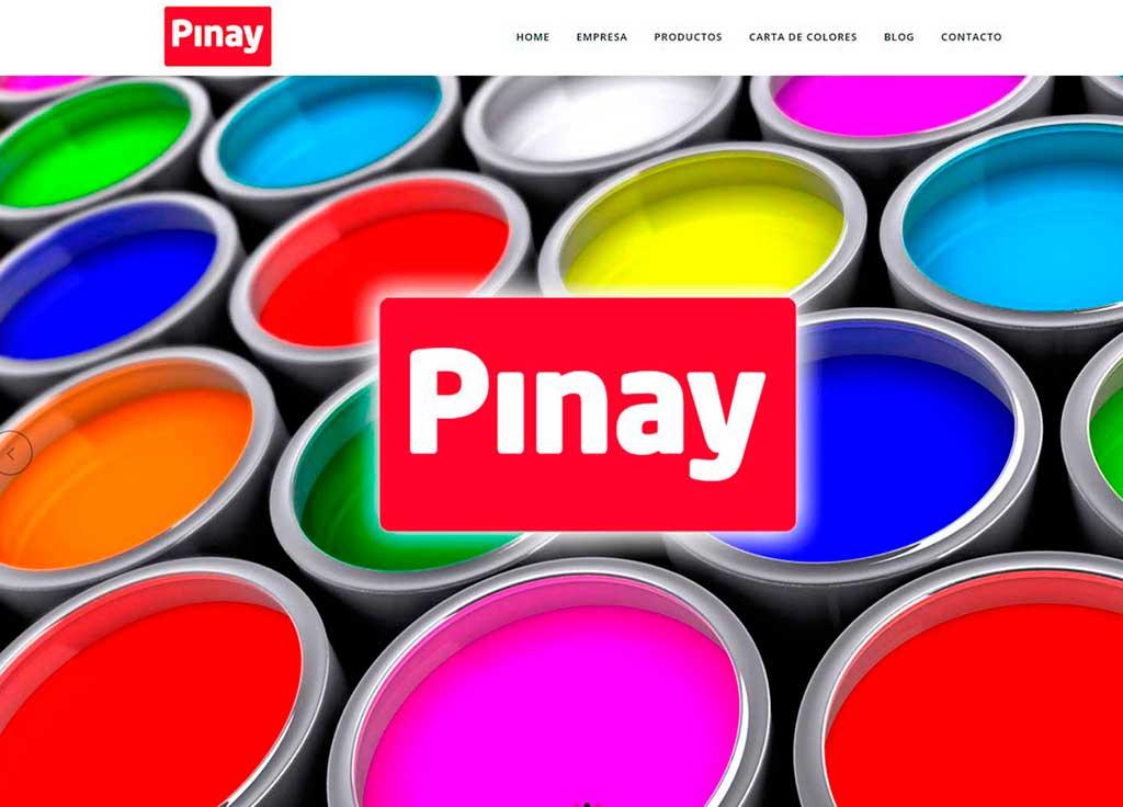 Web Pinturas Pinay